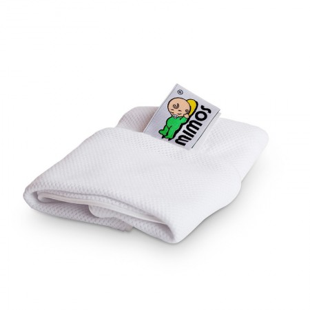 Poszewka biała na poduszkę Mimos S | Mimos