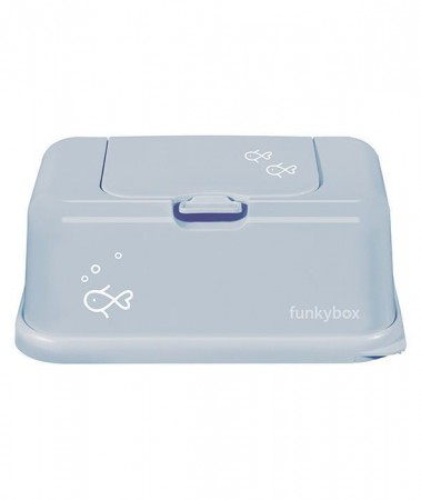 Pojemnik na Chusteczki   Vintage Blue Fish   Funkybox