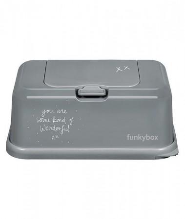 Pojemnik na chusteczki | Dark Grey Wonderful | Funkybox