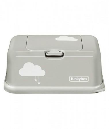 Pojemnik na chusteczki | Light Grey Cloud | Funkybox