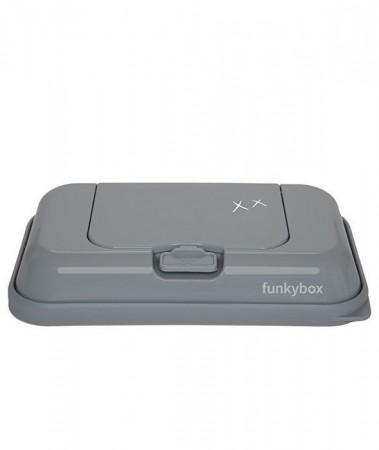 Pojemnik na chusteczki TO GO | Dark Grey Wonderful | Funkybox