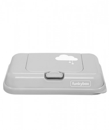 Pojemnik na chusteczki TO GO | Grey Cloud | Funkybox