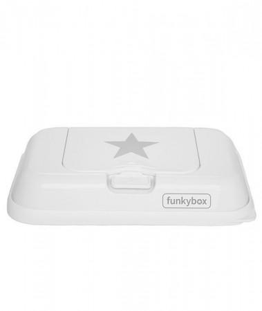 Pojemnik na chusteczki TO GO | White Silver Star | Funkybox