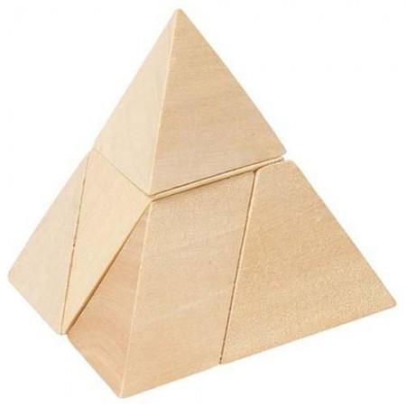 Drewniany Trójkąt - układanka logiczna | Goki