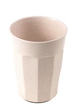 Nieprzewracalny Kubek z Przyssawką z Eko Plastiku | beżowy | KIDodo