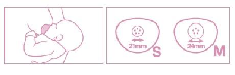 Osłonki na piersi 2 szt. rozmiar S | Suavinex