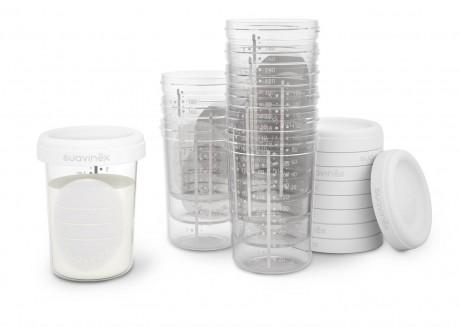 Pojemniki do przechowywania mleka 10 szt.   Suavinex
