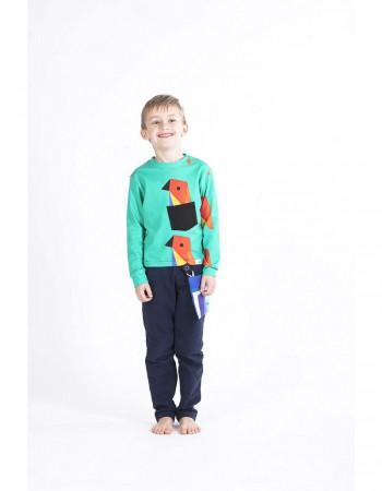 Bluza z długim rękawem ecoPapuga crazy POCKET
