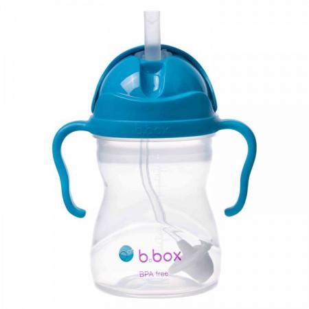 *NOWY* innowacyjny bidon ze słomką kobaltowy B.BOX
