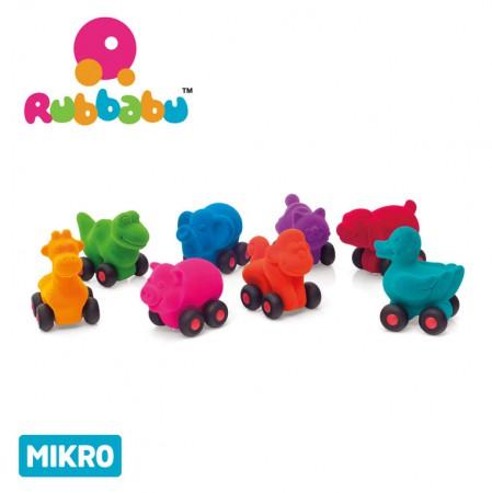 Dostępne wzory zawierzątek-pojazdów mikro Rubbabu