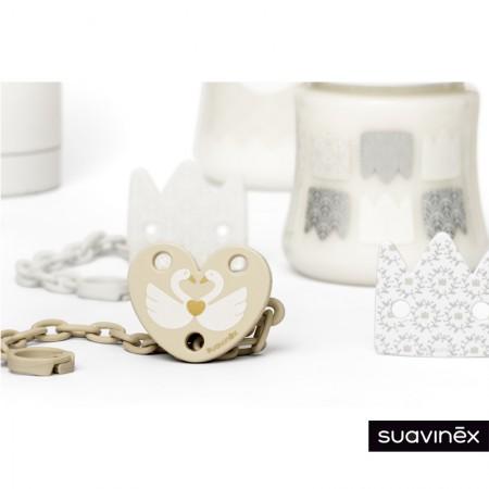 Klips do smoczka łabędź Swan | Suavinex Special Occasions