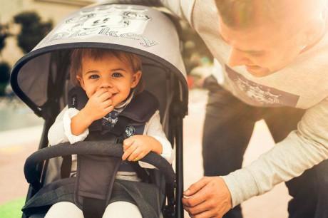 Wózek jest bardzo komfortowy dla dziecka