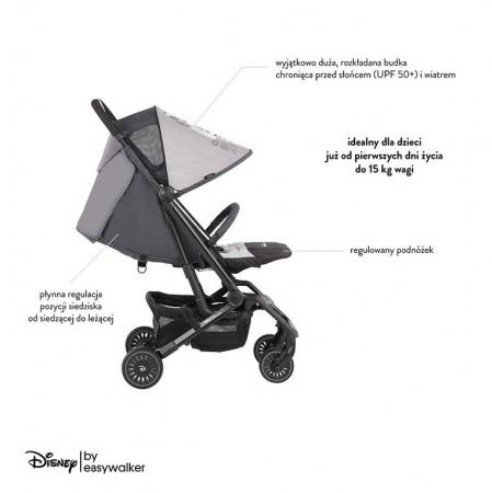 Dziecko może w nim przybrać pozycję leżącą, co ma ogromne znaczenie w czasie drzemek na spacerach