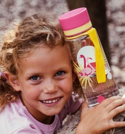 Butelka - bidon BPA Free 400 ml | Flamingi | EQUA