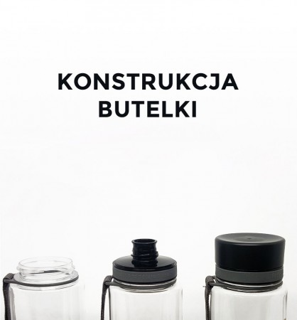 Butelka - bidon BPA Free 600 ml | ustnik
