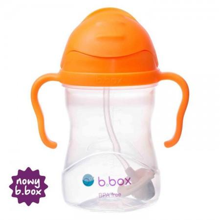 *NOWY* innowacyjny bidon ze słomką pomarańczowy B.BOX