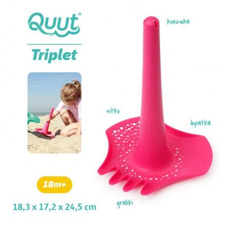 Łopatka wielofunkcyjna Triplet kolor Calypso Pink QUUT