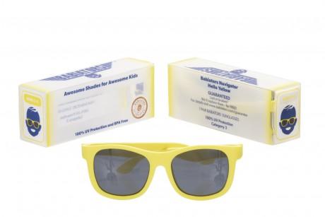 Okulary przeciwsłoneczne | 3-7 lat | Hello Yellow | Babiators