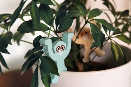 Małpki można wykorzystać także do innych zabaw
