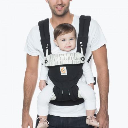 W nosidle można nosić w czterech ergonomicznych pozycjach