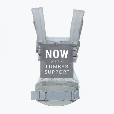 Nosidło Ergobaby 360 posiada wsparcie dla kręgosłupa lędźwiowego
