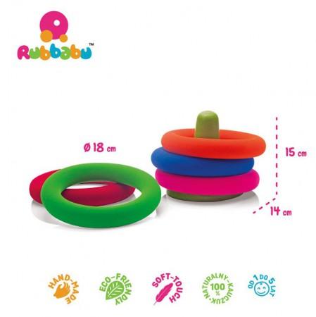 Zestaw do gry w obręcze sensoryczny Rubbabu