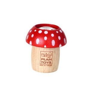 Drewniany kalejdoskop Grzybek czerwony | Plan Toys