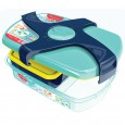 Pudełko lunchowe MAPED Picnik Concept wzór zielono-granatowy 870017