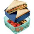 Lunchbox składa się z dwóch komór.