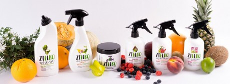 Środki czystości ZIELKO to seria produktów z min. 99,9% składników pochodzenia naturalnego.